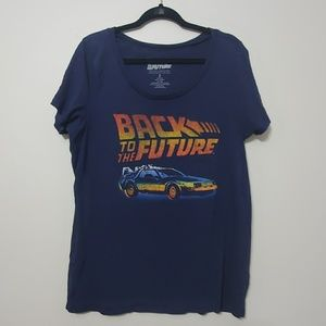 Torrid size 2 back to the future graphic tee
